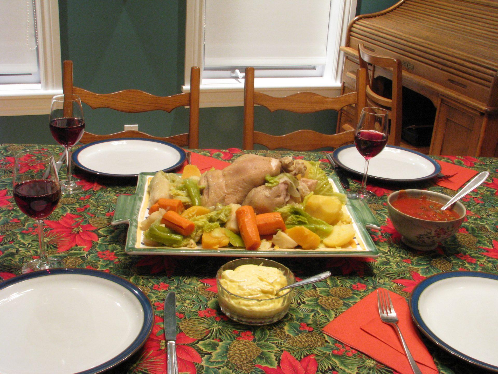 Poule au pot de ma grand m re pasquier la cuisine de michel - La cuisine de grand mere angouleme ...